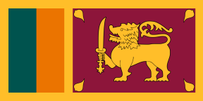 Sri Lanka lipp
